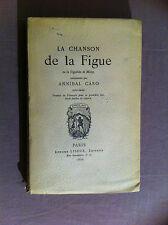 ���CARO Annibal - MOLZA F M) - La Chanson de la Figue ou la Figuéide de Molza -