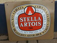 Plaque émaillée pub Stella Artois