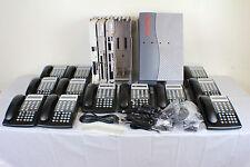 Lucent Avaya Partner ACS R8 Phone System w/ (12) 18D Telephones, VM, AA & More..