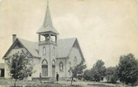 Centerville New York 1910 Postcard Methodist Church 13465
