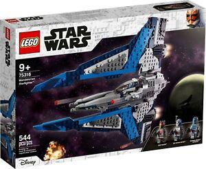 75316 LEGO Star Wars Rare Mandalorian Starfighter New Ages 9+
