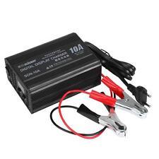 Smart Car Motorcycle Battery Charger Lead Acid Battery Charger 6V/12V 10A 220V