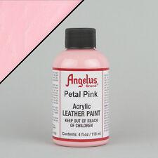 ANGELUS Acrilico Pelle Pittura Petalo Rosa 4oz (118ml) bottiglia resistente all'acqua
