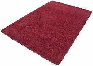 Ayyildiz Life Shaggy  Area Rug, Red 80cm W x 150cm L