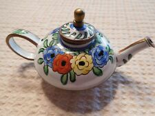 Kelvin Chen Teapot with Wildflowers #113@1999