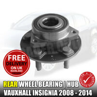 VAUXHALL INSIGNIA REAR WHEEL BEARING HUB ASSEMBLY x 1 NEW 2008-2016