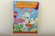 March Vol 46 Nintendo Power Magazine W/poster + Cards Tiny Toons Star fox