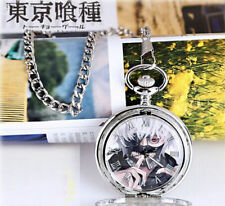 Tokyo Ghoul Pocket Watch Metal Necklace in Box Kaneki Ken Anime R-timer Cosplay