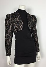 Gabriella Amoroso blazer giacca top crop jacket donna vintage floreale T2139