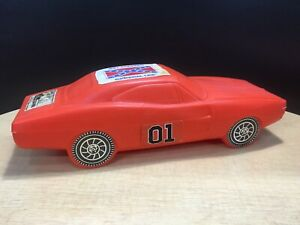 "Dukes of Hazzard/ General Lee Bank With Original Decals 16"" Length"