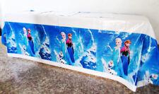 Mädchen KinderGeburtstag Party Tischdecke Frozen Eiskönigin Tischtuch Dekoration