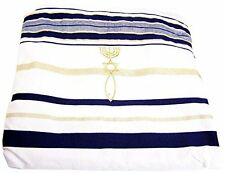 NEW Prayer Shawl messianic Christian Sign Tallit Hebrew English 72*22