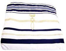 NEW Prayer Shawl messianic Christian Sign Tallit Hebrew English 72*22