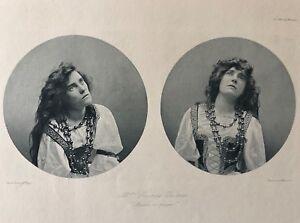 Suzanne Desprès (1875-1951) Théâtre actrice Théâtre Antoine Lugné-Poe