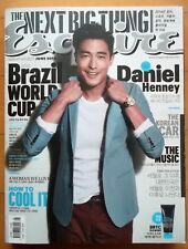 Daniel Henney/Cuttings 11P+Cover---Magazine Clippings/Esquire Korea/June 2014