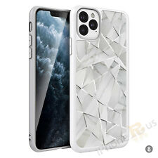 Funda protectora de teléfono de mármol para iPhone Samsung Huawei OnePlus Sony Xperia Etc 109-8
