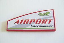 PLAYMOBIL (C117) AEROPORT - Panneau Affiche International Airport Terminal 4311
