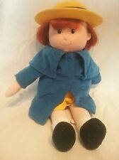 1998 talking Madeline doll, kids gifts, hard head soft body tested and works