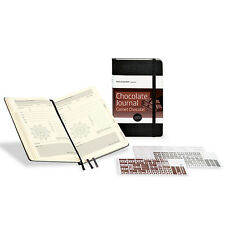 NEW Moleskine Passion Journal Chocolate Journal Embossed Cover w/Adhesive Labels