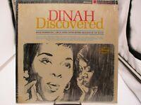 DINAH WASHINGTON - DINAH DISCOVERED - MERCURY LP - SR61119 Shrink VG+ c VG+