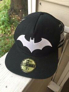 Batman New Era NEW Cap Hat Adjustable Snap 59 Fifty Black Gotham DC Comics