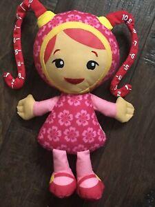 "Milli Measure Team Umizoomi Plush Doll Fisher Price 2011 girl 9"""