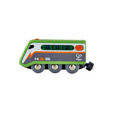 HAPE E3760 Solar-Powered Train Set Wooden Plastic Railway Children Age 3 yrs+