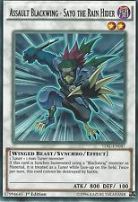YU-GI-OH RARE: ASSAULT BLACKWING - SAYO THE RAIN HIDER - TDIL-EN047 -1st EDITION