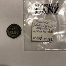 Monnaie Byzantine Justinien Penta AntJustinian Byzance Roman Vevein Collector