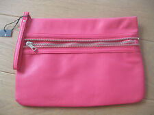 Atmosphere by Primark Zipper Clutch in Pink Handtasche Tasche