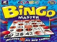 eGames Bingo Master Pc New Cd Rom Sealed In Paper Sleeve XP