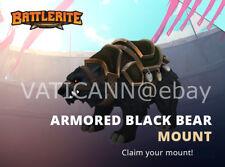 [INSTANT DELIVERY 24/7] Battlerite - Armored Black Bear Mount [GLOBAL STEAM KEY]