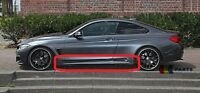 BMW NEW 4 F32 M SPORT PACKAGE SIDE SKIRT SILL PAIR - RIGHT LEFT 8060847 8060848