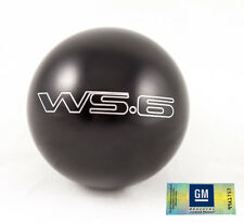 "82-02 Trans Am Billet Aluminum Black WS6 Manual Shift Knob NEW 2.25"" M16x1.5"