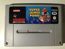 Super Nintendo SNES Super James Pond (Versione GIG)