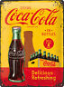 COCA COLA Blechschild 30x40 cm DRINK IN BOTTLES RETRO Schild Sign 23195