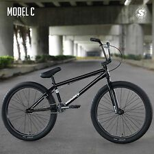 "2018 SUNDAY BIKE BMX MODEL C 24"" BLACK BICYCLE FIT CULT CRUISER HARO SE"