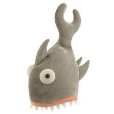 Shark Bite Hat Eating Head Fancy Dress Animal Jaws Sea Halloween Mens Ladies New