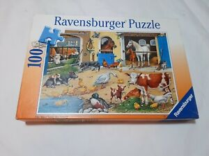 100 Pieces Puzzle - Am Stall - Ravensburger - 100% Complete