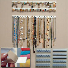 9pcs Jewelry Wall Hanger Holder Stand Organizer Necklace Bracelet Earring Rack