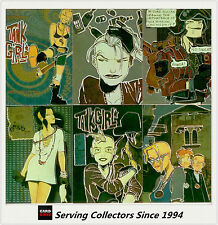 Tank Girl Trading Card Subset Comic Story Foil Card Full Set (6)
