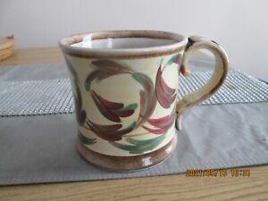 Vintage Denby Glyn Colledge Hand Painted Stoneware Mug