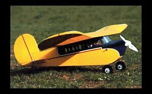 """FULL RC plans & Patterns LAZY BEE 48"""" Extended Wing Plus construction Article"""