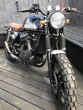 cx 500 scrambler bobber custom flat tracker