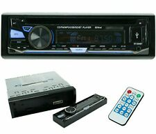 Single-DIN CD Car Stereo Bluetooth, USB SD & Aux Input Car Audio
