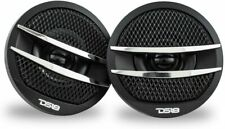 """Ds18 Tx1S Car Audio 2"""" Super Tweeter Build In Crossover - 200 Watts Pair Silver"""