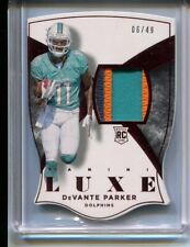 2015 PANINI LUX DEVANTE PARKER RC #70 NICE 3 COLOR PATCH JERSEY RARE #'D 06/49