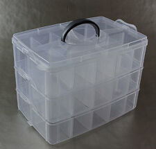 Plastikbox Angelbox Köderbox zubehörbox Angel Box TACKLEBOX Mittel (JCB650M)