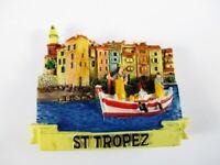 Magnet St. Tropez Côte d' Azur Polyresin,Souvenir Frankreich France,Neu.*