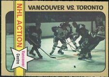 1972-73 OPC VANCOUVER CANUCKS ORLAND KURTENBACH NHL ACTION CARD #149 NRMINT/MINT